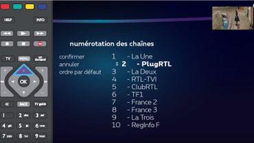 """BX1 """"relégué"""" loin dans la numérotation des chaînes Proximus: pourquoi? Ca change quand? Et comment modifier cet ordre?"""