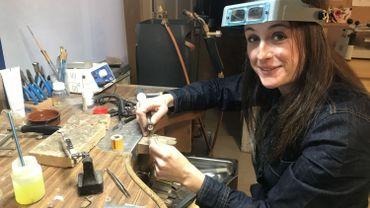 Candice De Rijcke a lancé sa marque de bijoux il y a 2 ans.