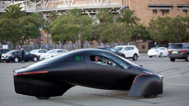 Cette drôle de voiture électrique n'a même pas besoin d'être rechargée