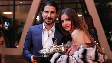 Lior Refaelov, et son épouse, Soulier d'Or 2020
