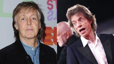 Paul McCartney / Mick Jagger