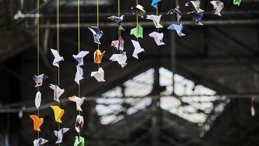 Confectionner un origami et 5 euros seront versé à l'hôpital Erasme
