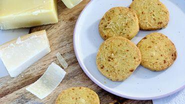 La Cuisine de Leslie - Sablé aux restes de fromage