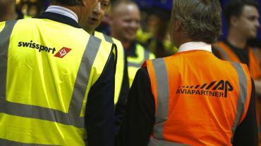 Aviapartner et Swissport sont les seuls bagagistes actifs à Brussels Airport.