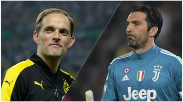 Thomas Tuchel et Gianluigi Buffon