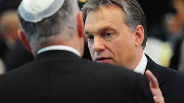 "Budapest: Viktor Orban prône ""la tolérance zéro"" contre l'antisémitisme"