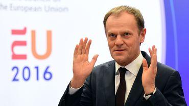 Le président du Conseil européen Donald Tusk va s'entretenir avec plusieurs dirigeants européens pour éviter une sortie du Royaume-Uni de l'UE.