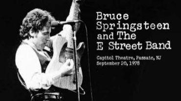 Sortie d'un live de Springsteen de 1978