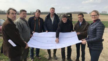 A Perwez, quelques agriculteurs s'opposent à l'expropriation de leurs terres