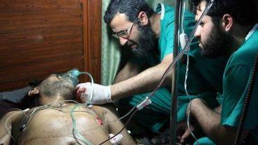 Encore de nombreux morts et blessés en Syrie, comme ici à Qusayr, ville tenue par les rebelles