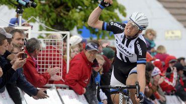 Nikias Arndt s'est imposé au sprint lors de la 3ème étape du Critérium du Dauphiné 2014