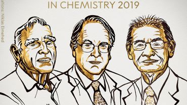 Le prix Nobel de chimie attribué à un Anglais, un Américain et un Japonais pour le développement de batteries lithium-ion