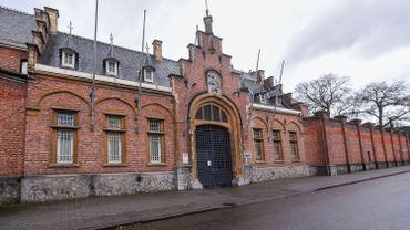Photo d'illustration montrant la prison de Turnhout, le vendredi 20 décembre 2019.