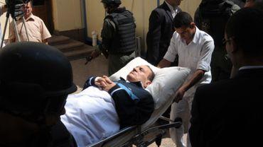 Début du procès d'Hosni Moubarak, l'ex-président égyptien
