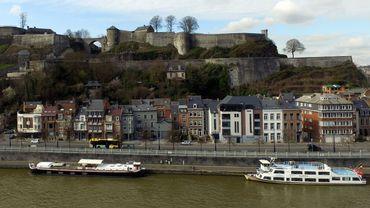 Zones de travaux à Namur