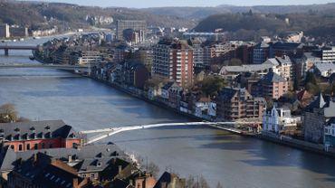 Enjambée à Namur, en février 2019