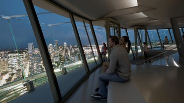 La rénovation du Space Needle