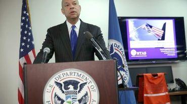 Le secrétaire américain à la Sécurité intérieure Jeh Johnson, le 16 décembre 2015 à Washington