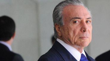 Le président brésilien Michel Temer a été enregistré par un chef d'entreprise en train de donner son accord à des pots-de-vin, selon O Globo