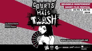 """L'affiche de """"Courts mais trash"""""""