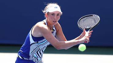 Elise Mertens (WTA 22) n'a pas réussi à se qualifier vendredi à New York pour sa première finale d'une épreuve WTA Premier 5 du circuit WTA au tournoi sur dur de Cincinnati.