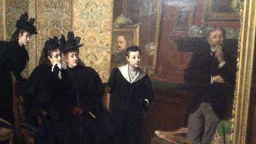 Adjugé ! Le marché de l'art en Belgique, 1850-1900. Au Musée Rops à Namur.
