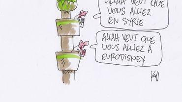 """Belges en Syrie: salaires, assurance décès, """"le côté financier joue un grand rôle"""""""