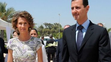 Asma et Bachar al-Assad