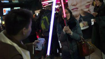 """Après l'Amérique et l'Europe, """"Star Wars"""" part à la conquête de la Chine"""