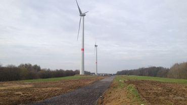 Les 4 éoliennes permettront de fournir l'équivalent de la consommation électrique de 4500 ménages en un an.
