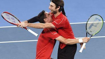 Le duo Gillé-Vliegen en demi-finale à Auckland