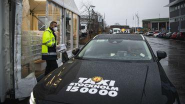 En Suède, des taxis au service du dépistage du Covid-19