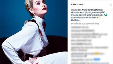 IMG Models recrute Paris Jackson