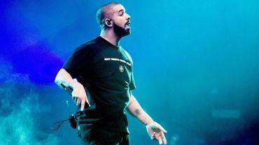 Le rappeur canadien Drake à Amsterdam, le 28 janvier 2017