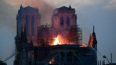 Incendie à Notre-Dame de Paris: l'évêque de Liège soutient ses collègues parisiens