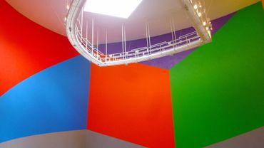 Wall Drawing 831 (Geometric Forms), de Sol LeWitt au Museo Guggenheim