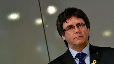 L'indépendantiste catalan Carles Puigdemont, le 15 mai 2018 à Berlin