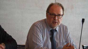 Pierre Vandewattyne, le directeur général d'Ideta