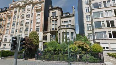 La Villa Les Iris, avenue de Tervueren 28 à Etterbeek a fait polémique en 2016.