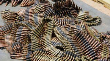 Munitions du groupe Noko Haram au Nigeria, en juillet 2019