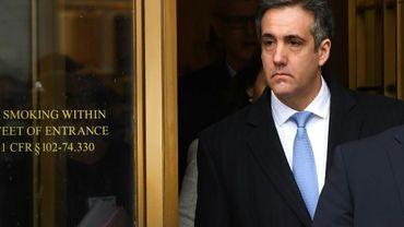 Michael Cohen à sa sortie du tribunal, le 12 novembre 2018, à New York