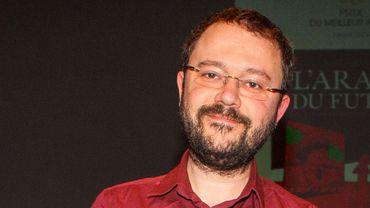Riad Sattouf au Festival d'Angoulême, le 1er février 2015