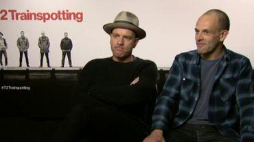 Ewan McGregor et Jonny Lee Miller, l'interview pour T2 Trainspotting