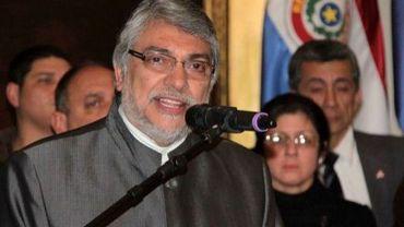 Le président destitué du Paraguay Fernando Lugo, le 22 juin 2012 à Asuncion