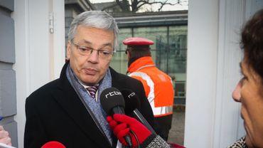 Le vice-premier ministre Didier Reynders