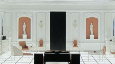 """Un réplique de la célèbre chambre à coucher de """"2001: l'Odyssée de l'espace"""" est exposée à Washington."""