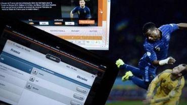 La pub pour les paris en ligne pendant les retransmissions sportives interdite