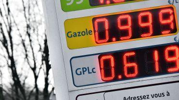 Le prix de l'essence et du diesel vont augmenter ce mardi