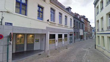 L'agression s'est produite à la rue des Ecriniers, dans le centre d'Ath.