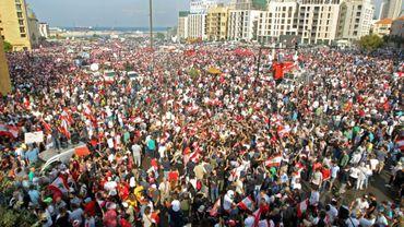 Cinquième jour de manifestations au Liban, plan de réformes attendu